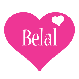 Belal love-heart logo