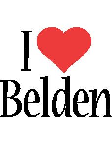 Belden Logo | Name Logo Generator - I Love, Love Heart
