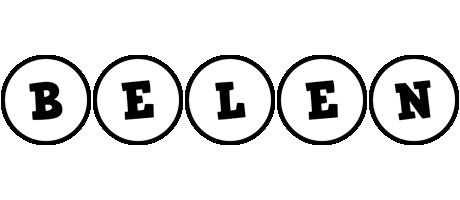 Belen handy logo