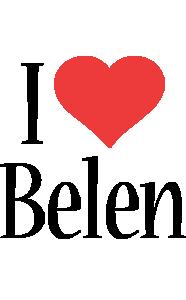 Belen i-love logo