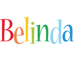 Belinda birthday logo