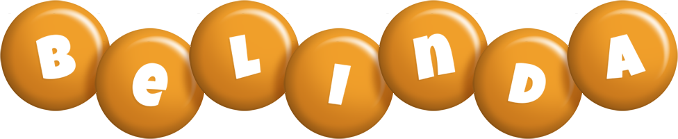 Belinda candy-orange logo