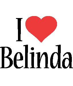 Belinda i-love logo