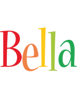 Bella birthday logo