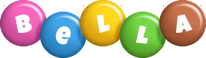Bella candy logo