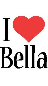 Bella i-love logo