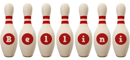 Bellini bowling-pin logo