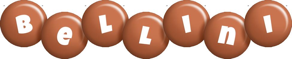 Bellini candy-brown logo