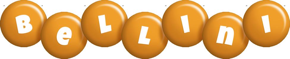 Bellini candy-orange logo