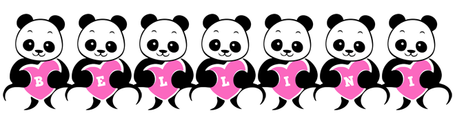 Bellini love-panda logo