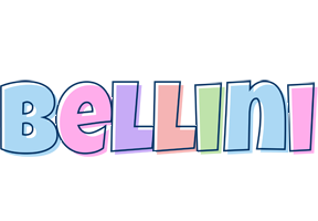 Bellini pastel logo
