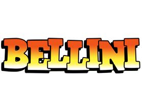 Bellini sunset logo