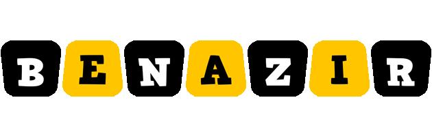 Benazir boots logo
