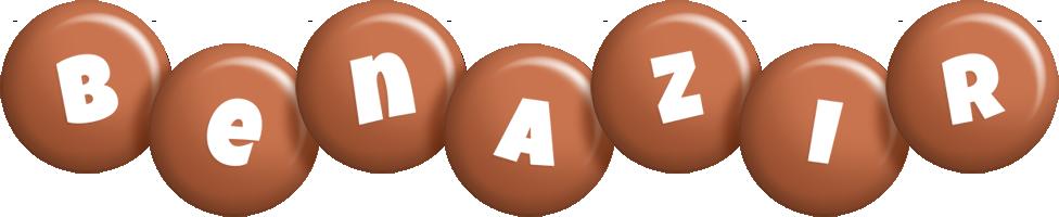 Benazir candy-brown logo