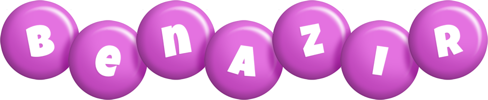 Benazir candy-purple logo