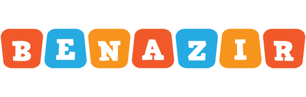 Benazir comics logo