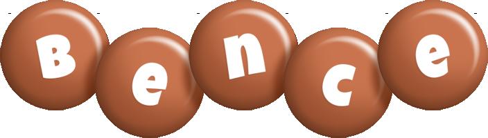 Bence candy-brown logo