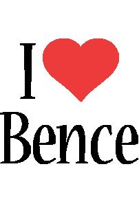 Bence i-love logo