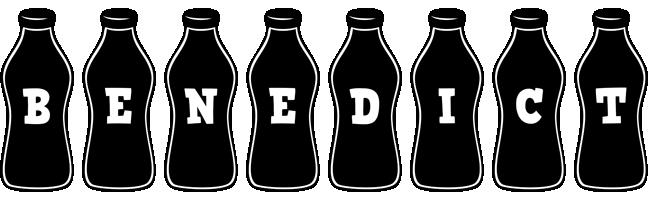 Benedict bottle logo