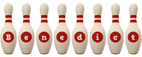 Benedict bowling-pin logo
