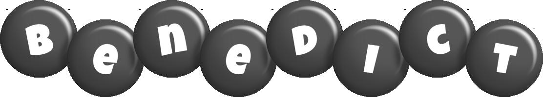 Benedict candy-black logo