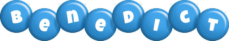 Benedict candy-blue logo