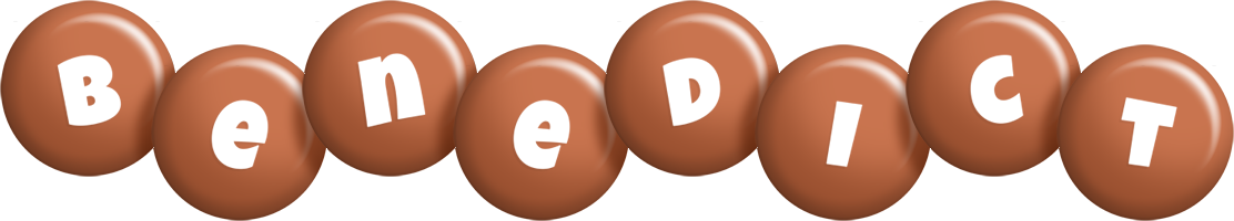 Benedict candy-brown logo