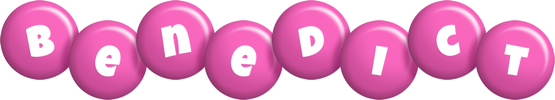 Benedict candy-pink logo