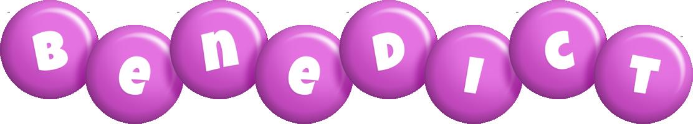 Benedict candy-purple logo