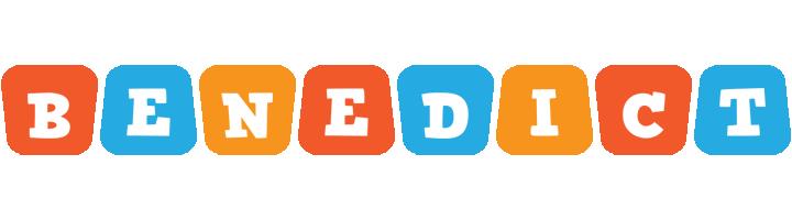 Benedict comics logo