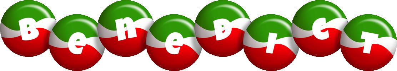 Benedict italy logo