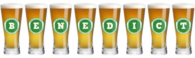 Benedict lager logo