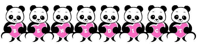 Benedict love-panda logo