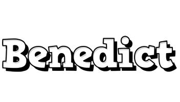 Benedict snowing logo
