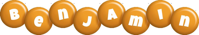 Benjamin candy-orange logo