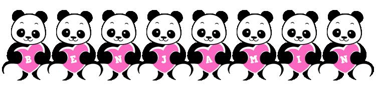 Benjamin love-panda logo
