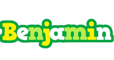 Benjamin soccer logo