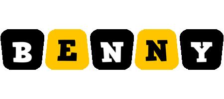 Benny boots logo