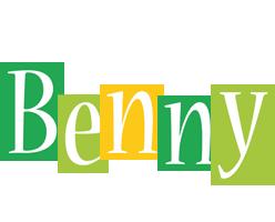 Benny lemonade logo