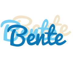 Bente breeze logo