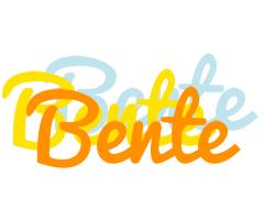 Bente energy logo