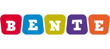 Bente kiddo logo