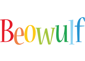 Beowulf birthday logo