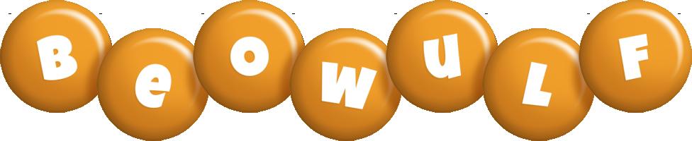 Beowulf candy-orange logo