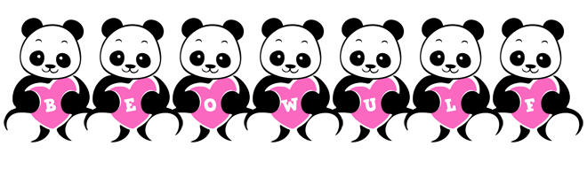 Beowulf love-panda logo
