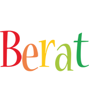 Berat birthday logo
