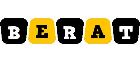 Berat boots logo