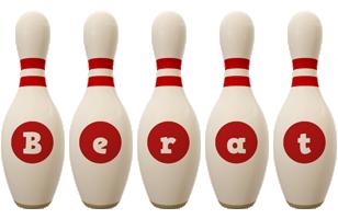 Berat bowling-pin logo
