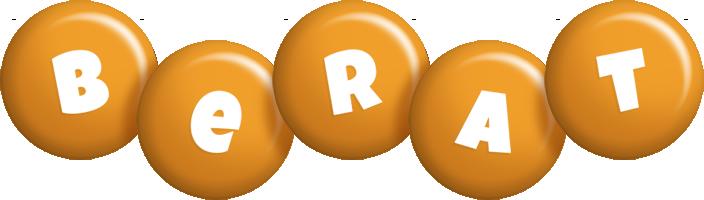 Berat candy-orange logo
