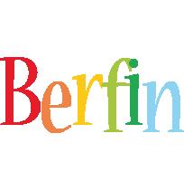 Berfin birthday logo
